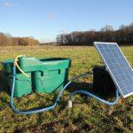 Weidedrinksysteem op zonne-energie