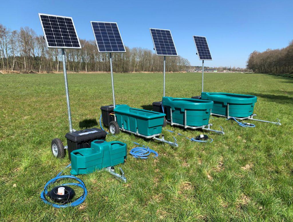 weidedrinkbakken zonne-energie