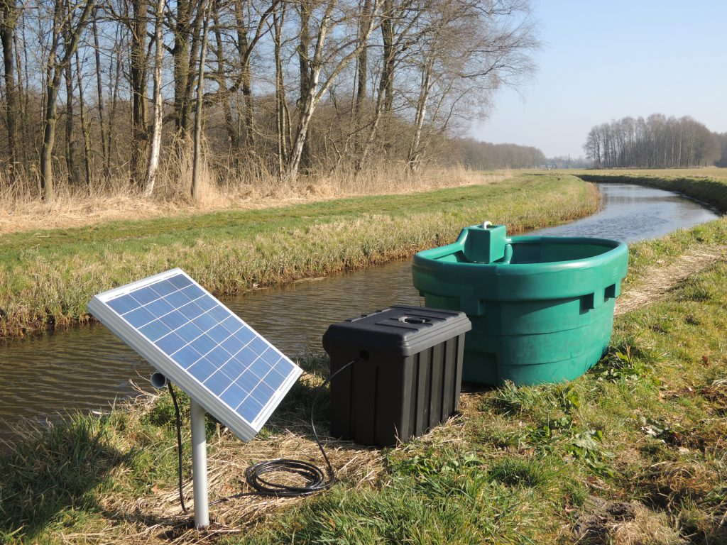 Solar oppervlakte pomp
