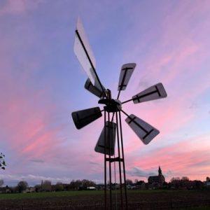 GiWell water windmolen avond